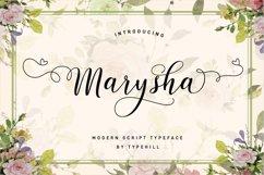 Marysha Script Product Image 3