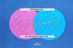 Wascer Modern Script Brush Font Product Image 1