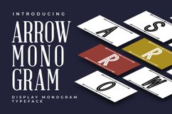 Arrow Monogram Product Image 1