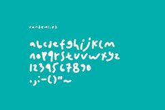 Vandemi Handwritten font Product Image 5