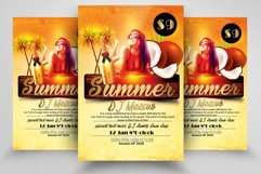 10 Summer Cocktail Party Flyers Bundle Product Image 5