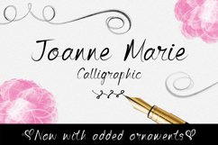 Joanne Marie Calligraphic Product Image 1