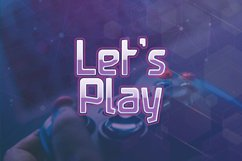 Square - Display Games Font Product Image 2