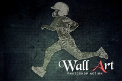 Wall Art Photoshop Action Product Image 1