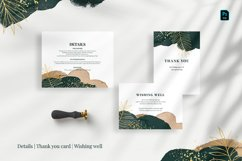 Tropical Abstract Wedding Suite Product Image 2