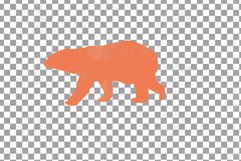 Baby and mama bear nursery clip art collection, bears print Product Image 9