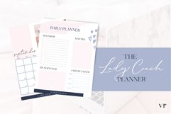 Lady Coach Planner Canva Template Product Image 3