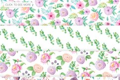 Summer Floral Seamless Patterns Product Image 2