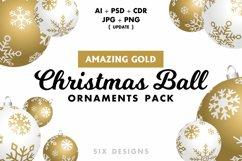48 Christmas Ball Ornaments Pack 6 Colors Product Image 4