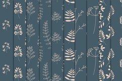 Botanical Seamless Pattern Procreate Brushes Product Image 3