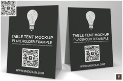 Table Tent Mockup Product Image 2
