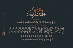 Billy Signature Product Image 11