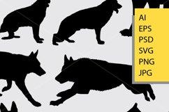 Dog animal silhouette Product Image 2