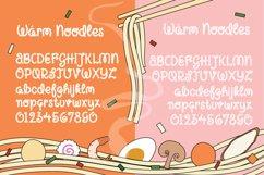 Warm Noodles Product Image 2