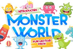 Monster Vector Pack Product Image 1