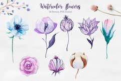 Winter. Watercolor collection. Product Image 10