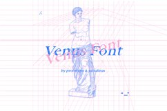 Venus Font Product Image 1
