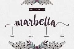 Marbella Typeface Product Image 3