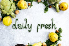 Celery Display Font Product Image 4