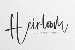 Heirloom - Signature Font Product Image 1