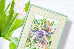 Watercolor Bouquet clipart Product Image 7
