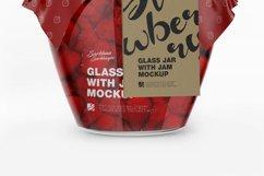Glass Jar With Jam Mockup Product Image 6