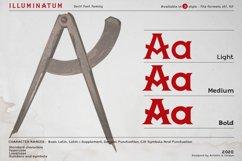 illuminatum - Serif font family Product Image 3