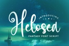 Web Font Helosea Font Product Image 1