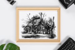 Rustic Wall Decoration, Printable Wall Decor, Old House Product Image 1