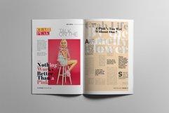 Fashion Magazine Layout Template Product Image 6