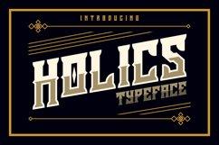 Holics Typeface Product Image 1
