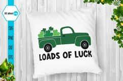 Loads Of Luck Svg, St Patricks Truck Svg Product Image 4