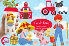 Farm animal clipart, graphics, illustrations AMB-1494 Product Image 4