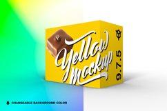 9.7.5 Simple 3D Box Mockup PSD Product Image 1