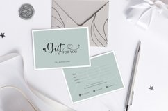 Gift Certificate Template, Editable Gift Certificate Product Image 3