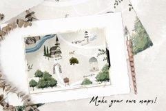 Wedding map creator watercolor Product Image 3