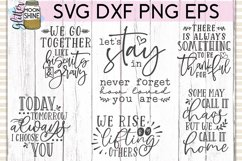 Rustic Home Bundle of 42 SVG DXF PNG EPS Cutting Files Product Image 5
