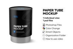 Paper Tube Mockup Product Image 1