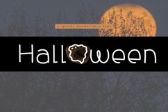 Halloween - A Spooky Handwritten Font Product Image 1