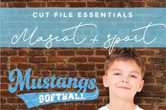 Mustangs svg, Mustang svg, Mustangs baseball svg, dxf, png Product Image 3