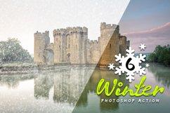 6 Winter Photoshop Action Product Image 2
