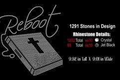 Reboot - Faith - Bible Rhinestone SVG Template Product Image 2