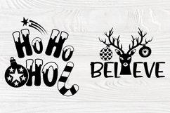 Christmas SVG Bundle, Christmas Shirt Svg, Funny Santa Claus Product Image 6