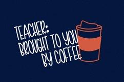 Teacher Doodles - A Dingbat Back To School Font  Product Image 5