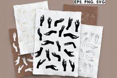 Hands set, PNG, SVG Product Image 1