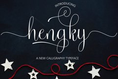 Hengky Script Product Image 1