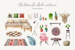 Watercolor boho interior Product Image 5