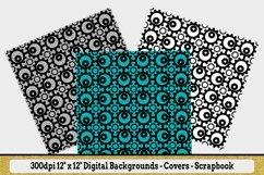 "12 Seamless Pattern - 12"" x 12"" Steampunk Revolutions Set Product Image 5"