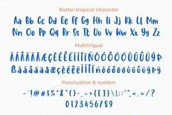 Web Font - Butter Tropical - Handwritten Font Duo Product Image 5