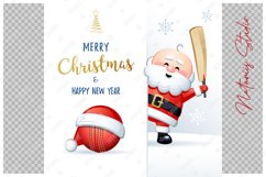 Merry Christmas and Happy New Year. Cricket. Product Image 2
